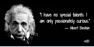 i have no special talentseinstein